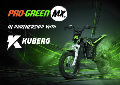 Pro-GreenMX Partner with Kuberg Motorcycles!